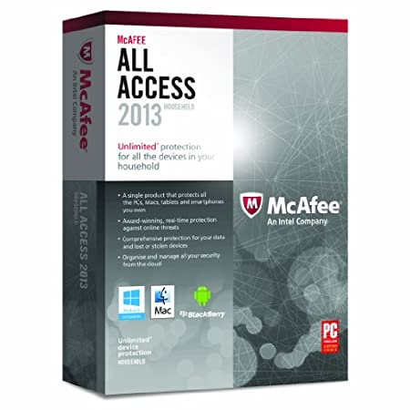 McAfee All Access - Household 2013 (PC/Mac)