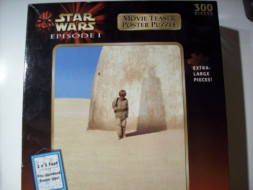 Cheap Hasbro Star Wars Episode 1 Movie Teaser Poster Puzzle (300 Pieces_ (B002ZKTD4M)
