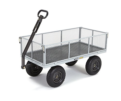 Gorilla-Carts-Heavy-Duty-Steel-Utility-Cart-with-Removable-Sides-with-a-Capacity-of-1000-lb-Gray