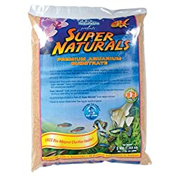 Caribsea Super Naturals Aquarium Sand, Sunset Gold, 50-Pound