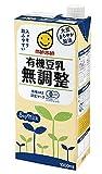 Amazon.co.jpマルサン 有機豆乳無調整 1000ml×6本