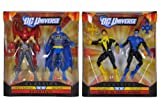 DC Universe Azrael Batman, Batman, Yellow Lantern & Blue Kyle Set Of 4 - Toy