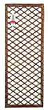 Gardman 60cm x 1.8m Framed Willow Trellis Panel
