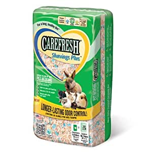 Carefresh Virutas Plus mascotas Ropa de cama, 14 litros : Pet Supplies