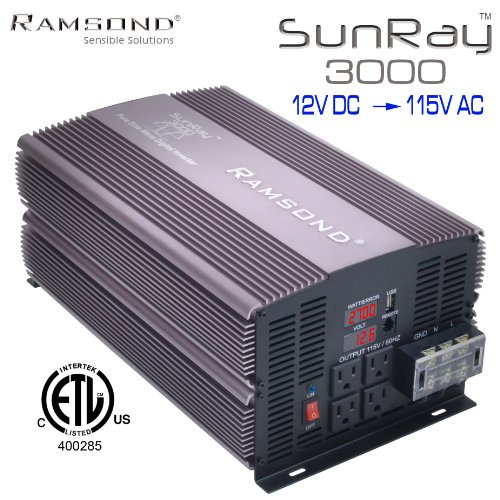 Ramsond SunRay 30006000 Watts W True Pure Sine Wave Power