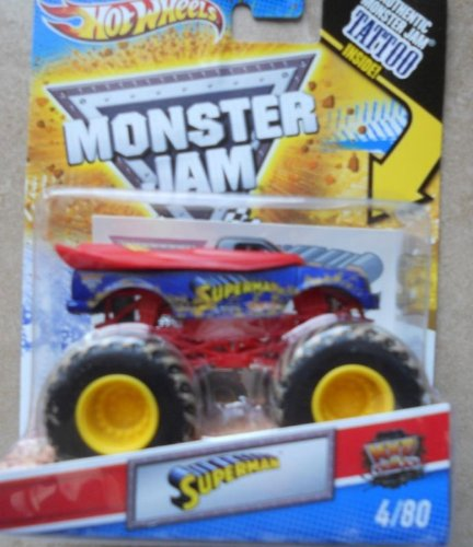 Hot Wheels Monster Jam 2011 Tattoo Series Mud Trucks 1:64 Scale (Small T