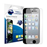 Protector de Pantalla Tech Armor para Apple iPhone 5S anti brillo.