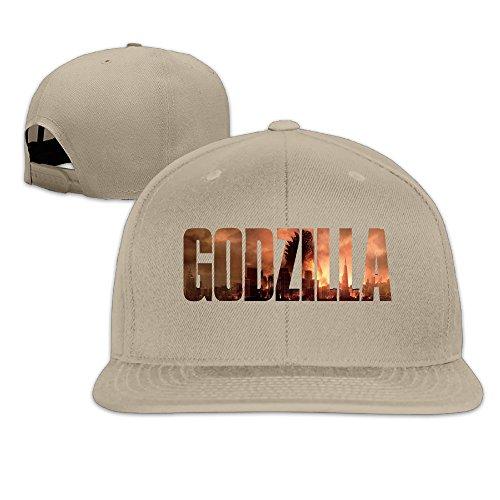 k-fly2-adjustable-godzilla-baseball-caps-hat-unisex-natural