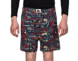 Nuteez Stamp Boxers For Men