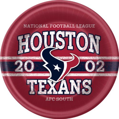Houston Texans Dinner Plates