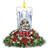 Floral Bouquet: Thomas Kinkade All Is Bright Table Centerpiece by The Bradford Exchange