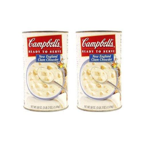 RoomClip商品情報 - キャンベルスープ クラムチャウダー スープ缶詰1.41kg×2缶