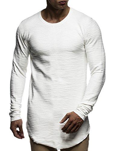 leif-nelson-herren-oversize-sweatshirt-hoodie-hoody-ln6298-grse-l-ecru