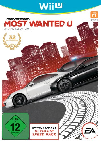 Need for Speed: Most Wanted - [Nintendo Wii U]
