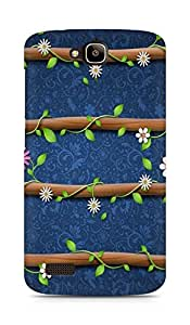 Amez designer printed 3d premium high quality back case cover forHuawei Honor Holly (cute floral)