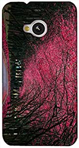 Timpax protective Armor Hard Bumper Back Case Cover. Multicolor printed on 3 Dimensional case with latest & finest graphic design art. Compatible with HTC M7 Design No : TDZ-26760