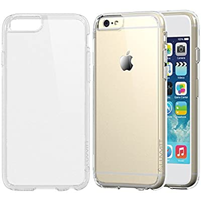 iPhone 6 Case, LUVVITT® [CLEARVIEW] iPhone 6 (4.7) Case Bumper **NEW** [Hybrid Clear View Armor Series] [Crystal Clear] Bumper Case with Clear Back Panel - Retail Packaging - Bumper Case for iPhone 6 (4.7) (2014) - Crystal Clear from Luvvitt