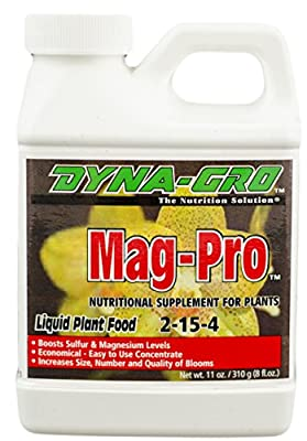 Dyna-Gro Mag-Pro Liquid Nutritional Supplement 2-15-4