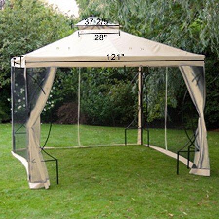 ** Cheap 10 X 10 Ft Garden Patio Canopy Gazebo Replacement ...