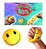 Novelty Funny Face Stress Ball - Ideal Gift or Stocking Filler - Boys Perfect Ideal Christmas Stocking Filler Gift Present