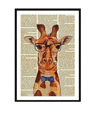 ReallyNiceThings Panel Decorativo Giraffe Artwork