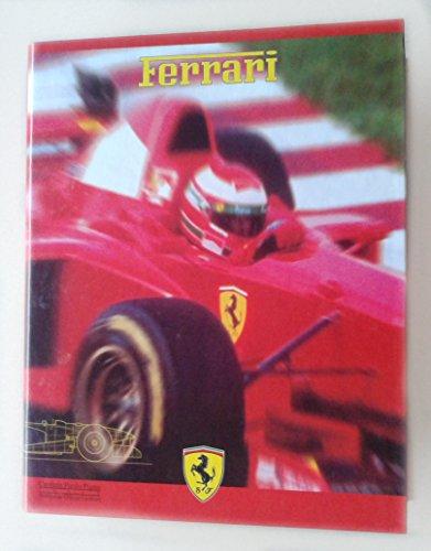 Ringbuch, Ordner DIN A5 Hartpappe mit Ferrari-Motiv
