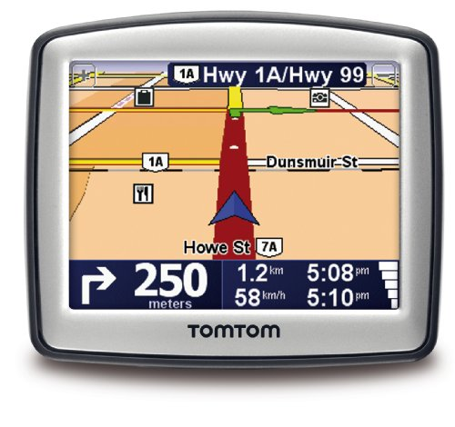 TomTom ONE 130 3.5-Inch Portable GPS Navigator (French)