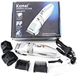 Kemei KM-27C Rechargeable Professional Hair Trimmer For Men, Women (Color May Vary) - By EzLife