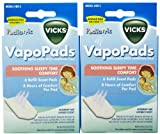 Vicks Sleepytime Waterless Vaporizer Scent Pads Pack of 2