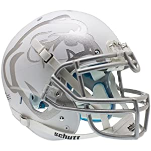 MISSISSIPPI STATE BULLDOGS Schutt AiR XP Full-Size AUTHENTIC Football Helmet SNOW... by ON-FIELD