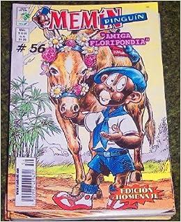"""Memin Pinguin Comic Book in Spanish No. 56, """"Amiga Floripondia"""