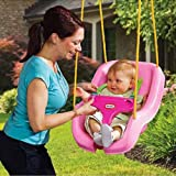 Little Tikes 2-in-1 Snug n Secure Swing - Pink
