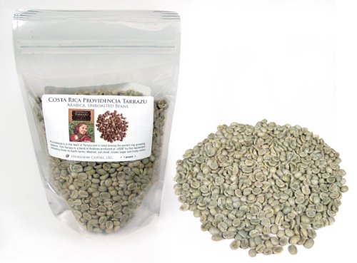 Costa Rica Providencia Tarrazu, Green Unroasted Coffee Beans (1 Lb)