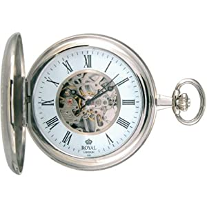 Royal London 90005-01 Mens Mechanical Pocket Watch