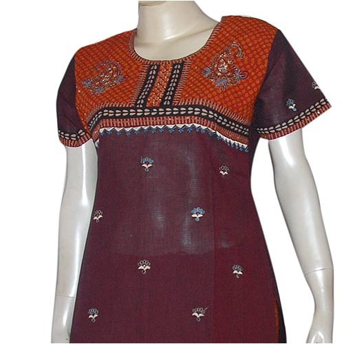 Kameez Salwar Printed Embroidered Cotton Womens Dress