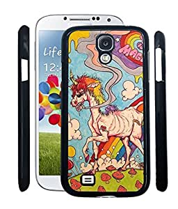 Aart Designer Luxurious Back Covers for Samsung S4 Mini + Flexible Portable Thumb OK Stand by Aart Store.