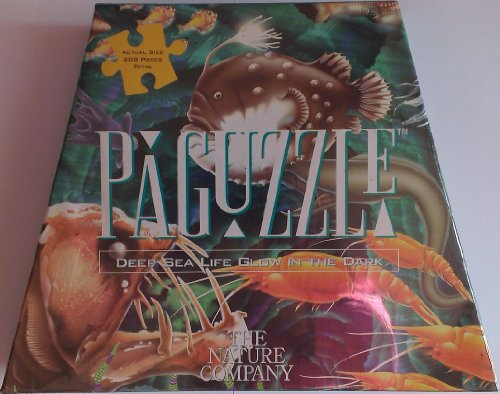 Paguzzle - Deep Sea Life Glow in the Dark