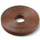 手芸用 エコ クラフトテープ 栗の木 50m巻 幅15mm 12芯 紙 バンド テープ 日本製