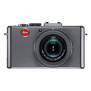 Leica D-LUX5 10.1 MP Compact Digital Camera (Titanium Special Edition) With 8GB SD Memory Card