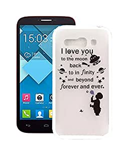 Amazon.com: Tsmine Alcatel One Touch Pop C9 TPU Cute Cartoon Case
