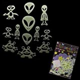Glow in the Dark Aliens. A perfect gift for that Birthday Gift, Christmas Present or Fathers day gifts etc...