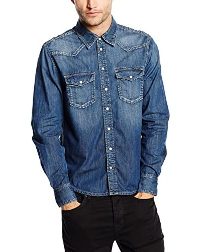 Pepe Jeans London Camicia Denim Carson Regular Fit [Denim]