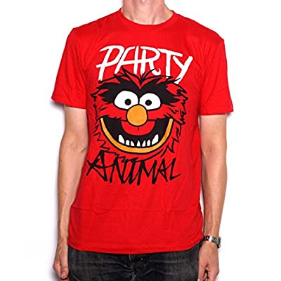 The Muppets T Shirt - Party Animal 100% Official