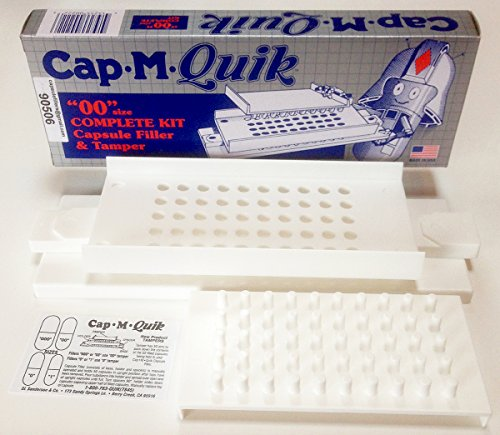 cap-m-quik-capsule-holder-with-tamper-quick-filler-for-filling-size-00-capsules-plus-free-curease-re