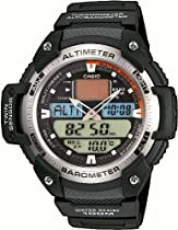 Casio Collection Digital Watch for Him Alitmeter, Barometer, Therometer