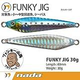 nada(ナダ) nada.(ナダ) FUNKY JIG(ファンキージグ) 30g イワシ 35110