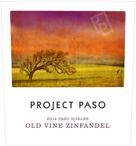 2012 Project Paso Old Vine Zinfandel, Paso Robles 750 Ml