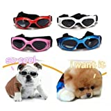 TINYPONY Cool fashion weatherproof eye protection S pet dog sunglasses UV Goggles glasses Blue