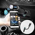 iKross Multifunction A2DP Bluetooth Car Radio FM Transmitter with Handsfree - Black