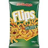 Mr.Knabbits Flips (Peanut puffs) 150g